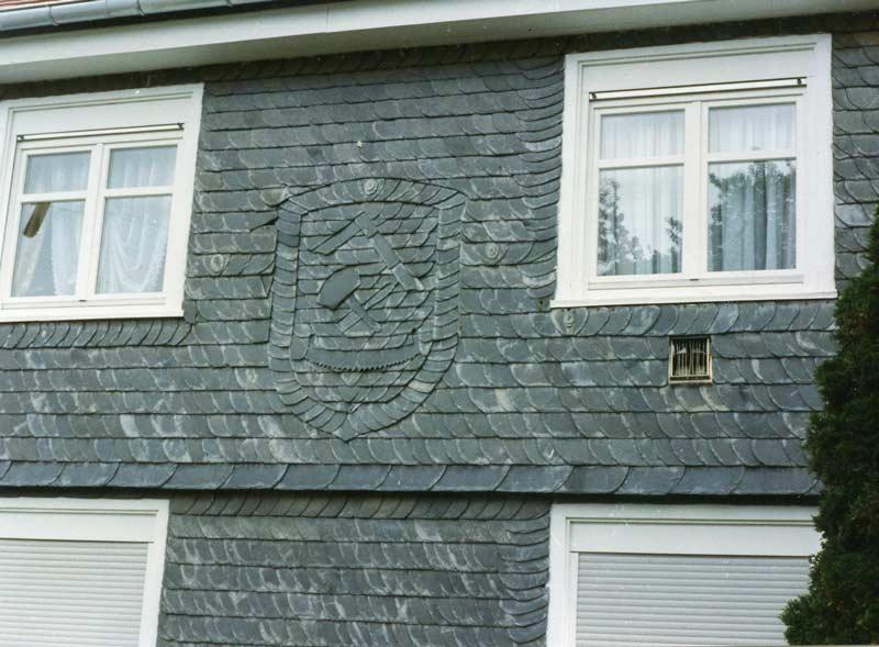 Fassaden aus Schiefer
